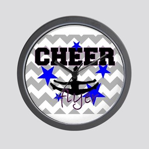 Cheerleader Flyer Wall Clock