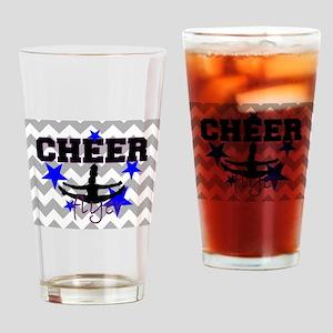Cheerleader Flyer Drinking Glass