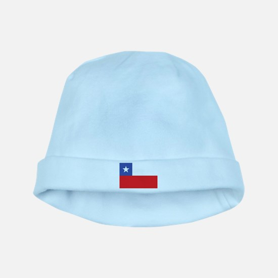 Flag of Chile baby hat