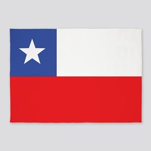 Flag of Chile 5'x7'Area Rug