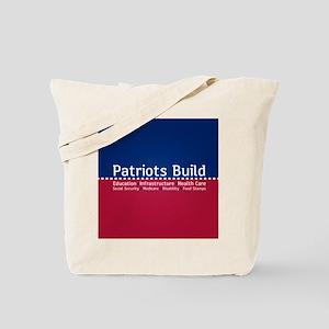 Patriots Build Tote Bag