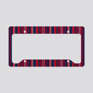 Patriotic Stripes License Plate Holder