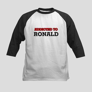 Addicted to Ronald Baseball Jersey