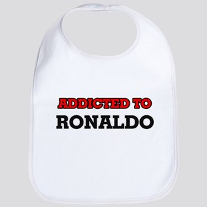 Addicted to Ronaldo Bib