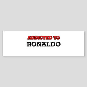 Addicted to Ronaldo Bumper Sticker