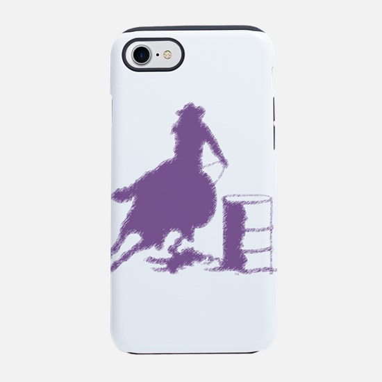 Purple Barrel Racer Female R iPhone 8/7 Tough Case