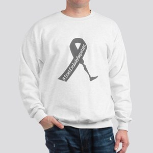 Amputee Awareness Ribbon Sweatshirt