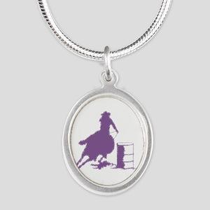 Purple Barrel Racer Female Ri Silver Necklaces
