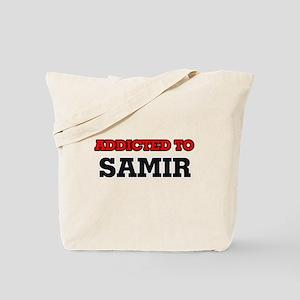 Addicted to Samir Tote Bag