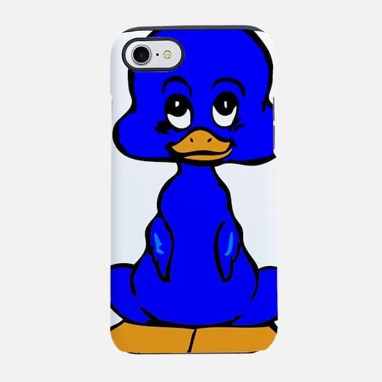 Blue Baby Duck iPhone 8/7 Tough Case