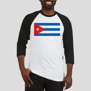Cuban Flag Baseball Jersey