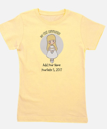 First Communion Blonde Girl's Tee