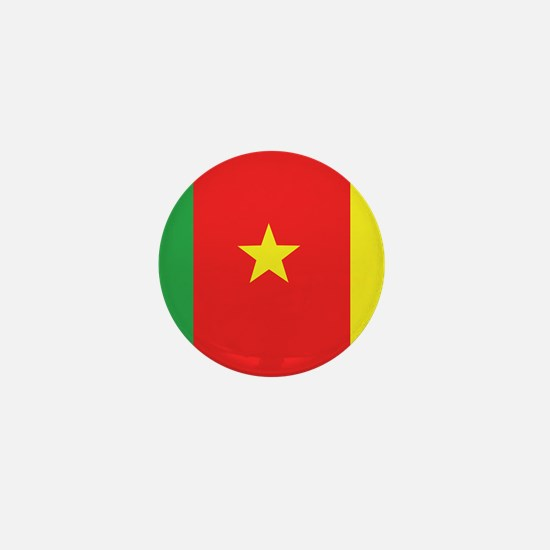 Flag of Cameroon Mini Button