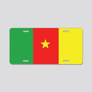 Flag of Cameroon Aluminum License Plate