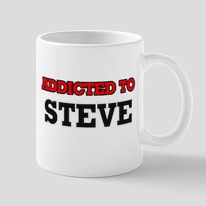 Addicted to Steve Mugs