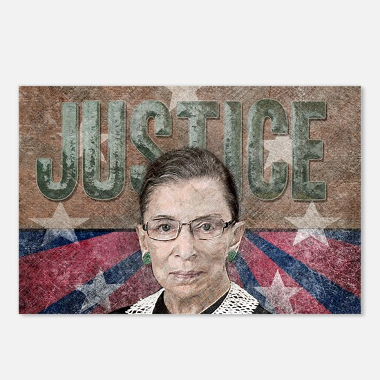 Justice Ginsburg Postcards (Package of 8)