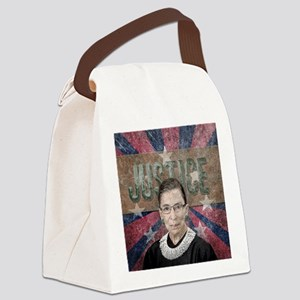 Justice Ginsburg Canvas Lunch Bag
