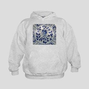 Vintage Blue Rooster Sweatshirt