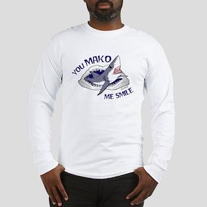 Mako me smile Long Sleeve T-Shirt