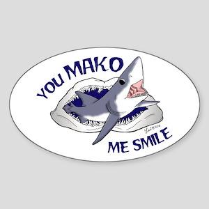 Mako Me Smile Sticker
