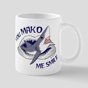 Mako me smile Mugs