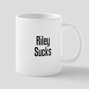 Riley Sucks Large Mugs