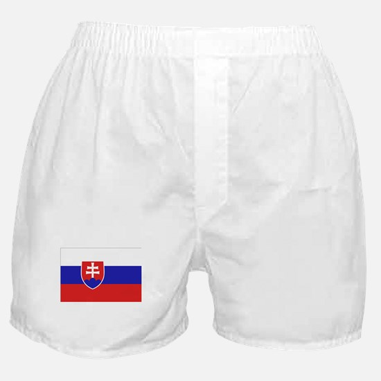 Slovak Flag Boxer Shorts