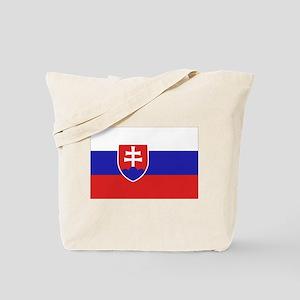 Slovak Flag Tote Bag