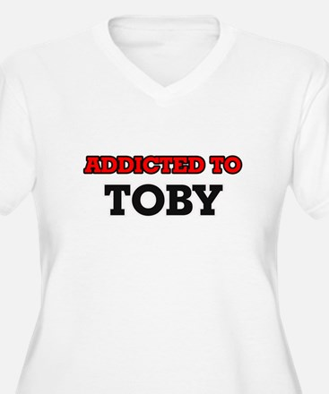Addicted to Toby Plus Size T-Shirt