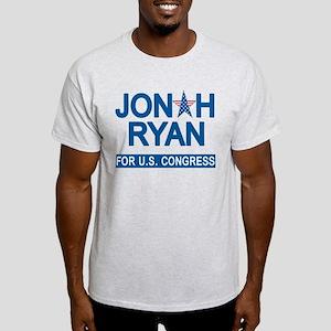 JONAH RYAN for US CONGRESS Light T-Shirt