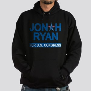 JONAH RYAN for US CONGRESS Hoodie (dark)