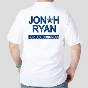 JONAH RYAN for US CONGRESS Golf Shirt