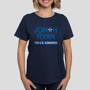JONAH RYAN for US CONGRESS Women's Dark T-Shirt