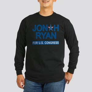 JONAH RYAN for US CONGRES Long Sleeve Dark T-Shirt