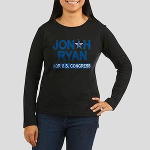 JONAH RYAN for US Women's Long Sleeve Dark T-Shirt