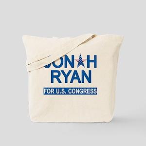 JONAH RYAN for US CONGRESS Tote Bag
