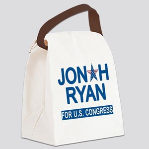 JONAH RYAN for US CONGRESS Canvas Lunch Bag