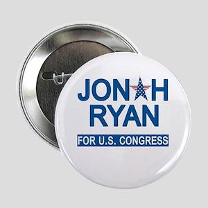 "JONAH RYAN for US CONGRESS 2.25"" Button"