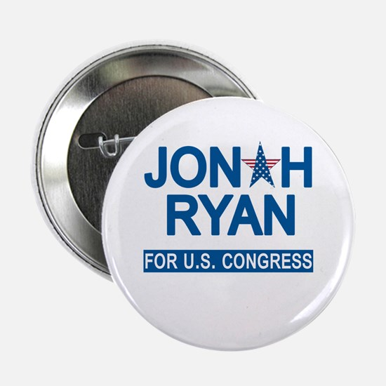 "JONAH RYAN for US CONGRESS 2.25"" Button"