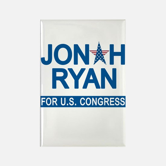 JONAH RYAN for US CONGRESS Rectangle Magnet