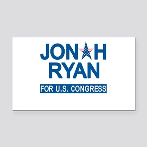 JONAH RYAN for US CONGRESS Rectangle Car Magnet