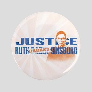 Ruth Badass Ginsburg Button