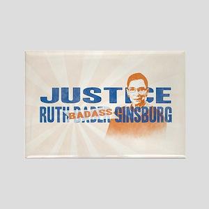Ruth Badass Ginsburg Magnets
