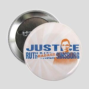 """Ruth Badass Ginsburg 2.25"""" Button (10 pack)"""