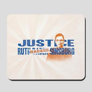 Ruth Badass Ginsburg Mousepad
