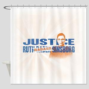 Ruth Badass Ginsburg Shower Curtain