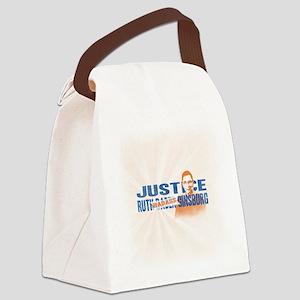 Ruth Badass Ginsburg Canvas Lunch Bag