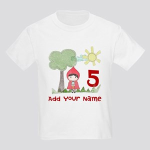 Little Red Riding Hood Birthday Kids Light T-Shirt