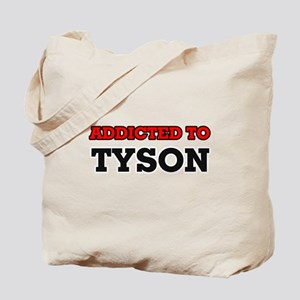 Addicted to Tyson Tote Bag
