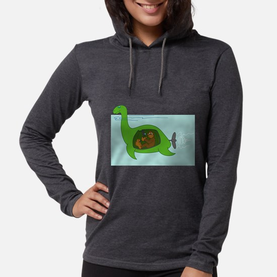 Bigfoot and Nessie Long Sleeve T-Shirt